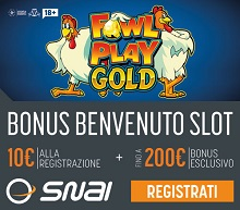 snai casino con fowl play