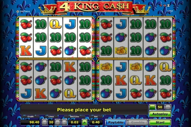 vlt 4 king cash