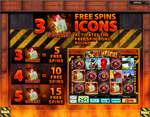 bonus slot 5 reel fire