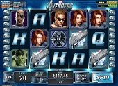 interfaccia slot the avengers