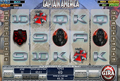 interfaccia slot capitan america