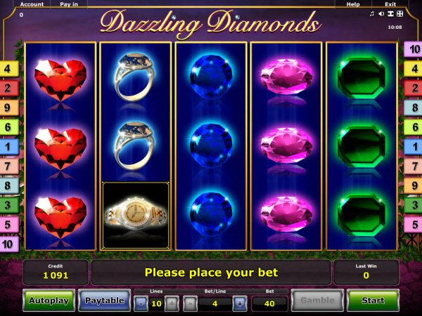 vlt dizzling diamonds gratis