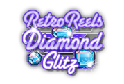 retro reels diamond glitz logo