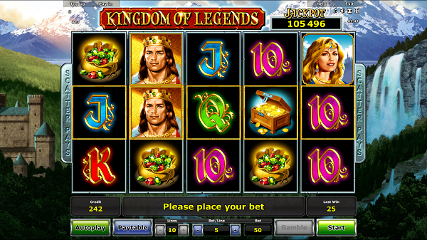 gioco kingdom of legends