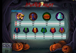 simboli di gioco haunted night
