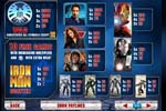 paytable slot iron man 2 50 linee