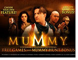 slot the mummy logo