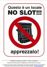 noslot Bolzano ordina: Togliete dai bar le slot machine!