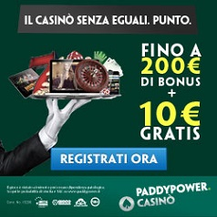 Casino Aams Paddy Power