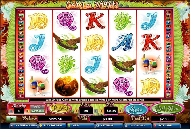 slot online gratis samba nights