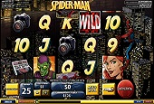 interfaccia slot spiderman