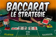 strategie baccarat