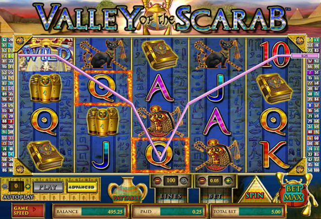 slot online gratis valley of the scarab