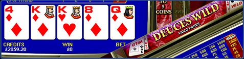video poker trucchi